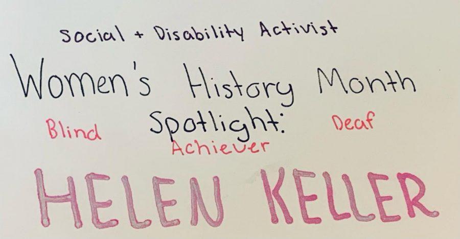 Women's History Month Spotlight: Helen Keller