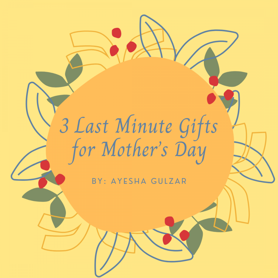 3 Last Minute Gifts for Mother's Day