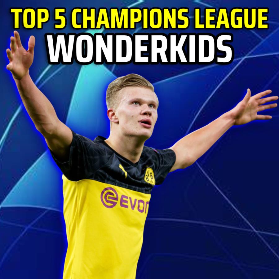 Top 5 Champions League Wonderkids 2021-22
